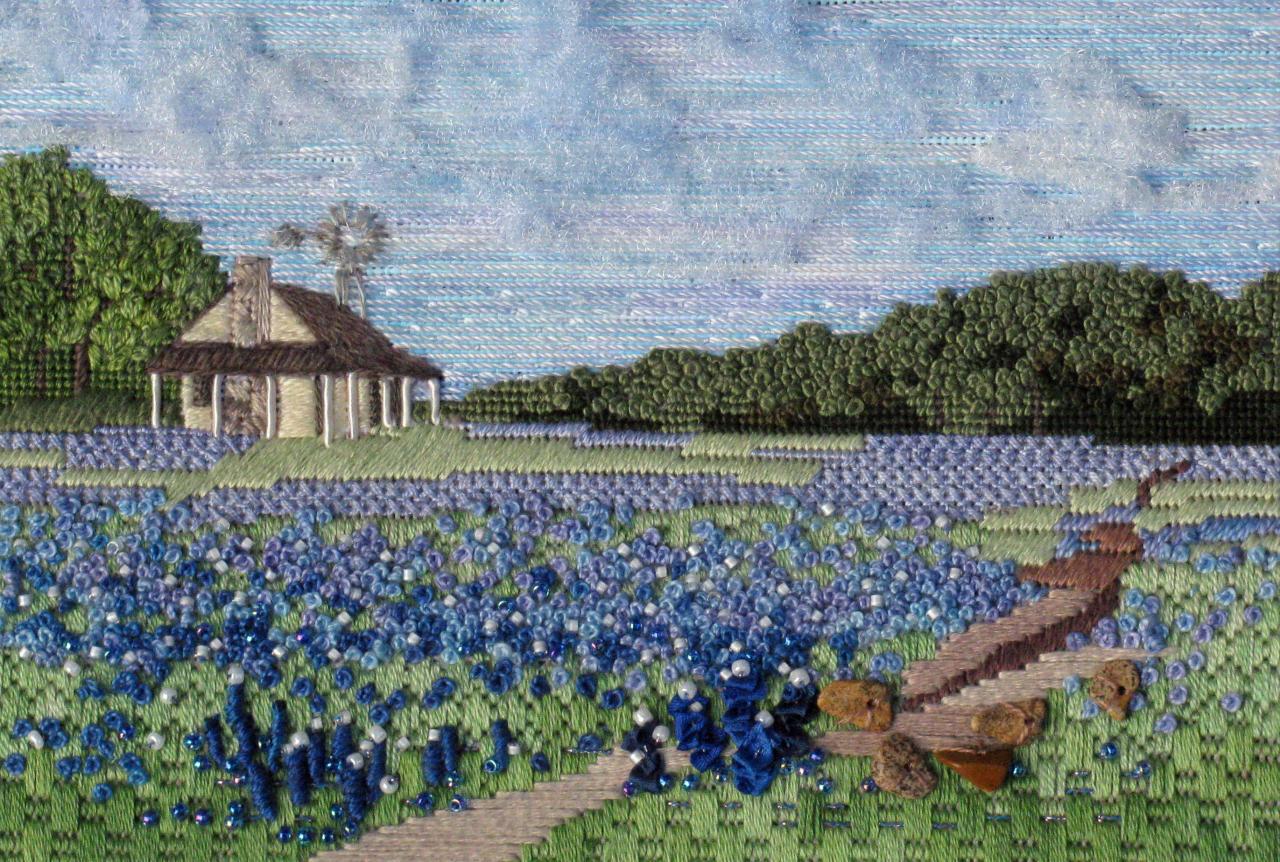 Blue Bonnet Homestead By Lois Kershner Cyberpointers